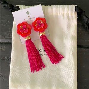 Kate Spade tassel earrings